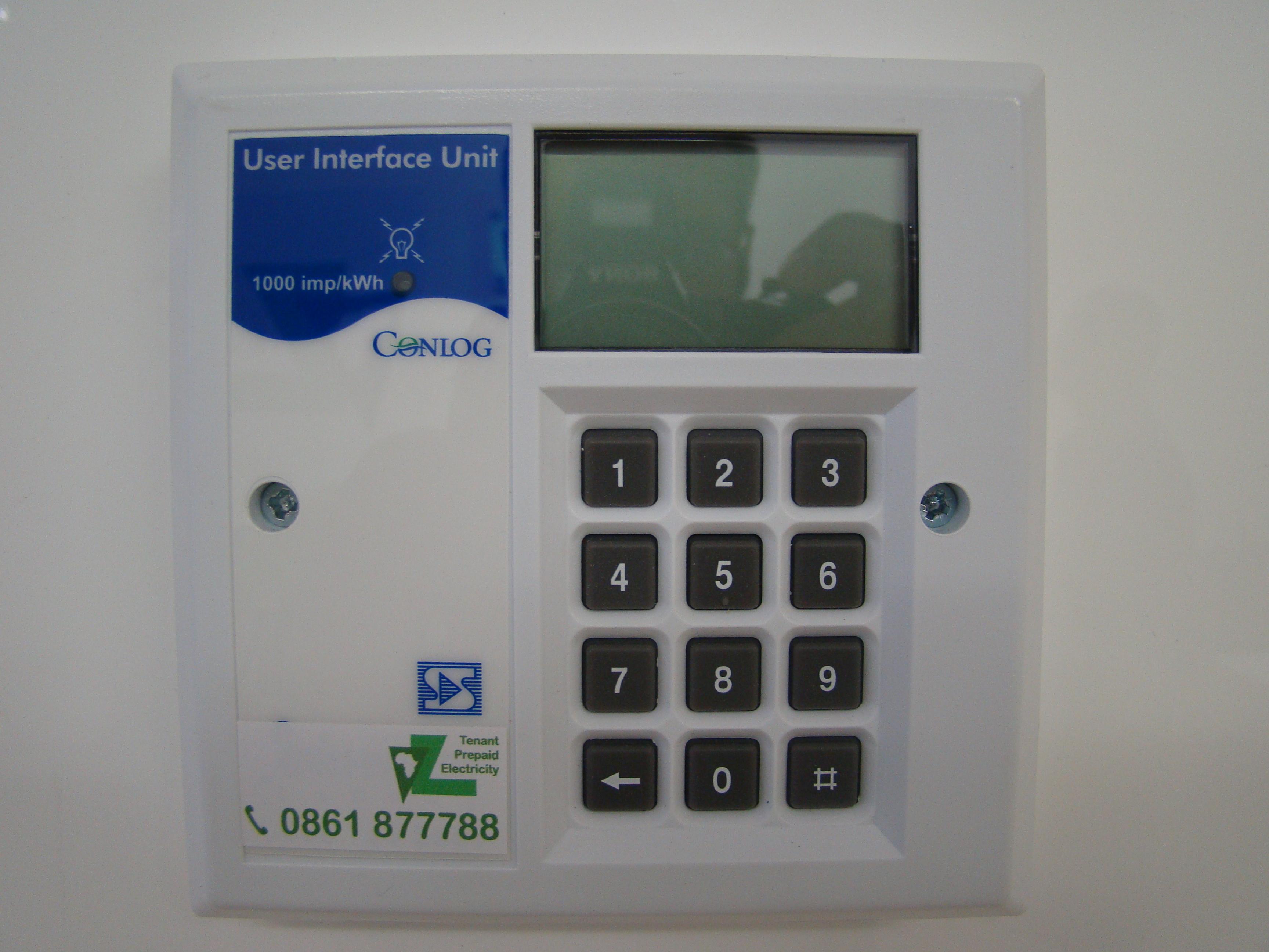Tenant Prepaid Prepaid Electricity Amp Water Meters